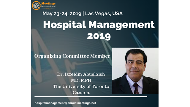 Hospital Management and Patient Safety 2019