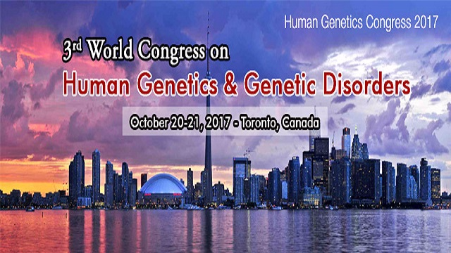 3rd World Congress on Human Genetics & Genetic Disorders