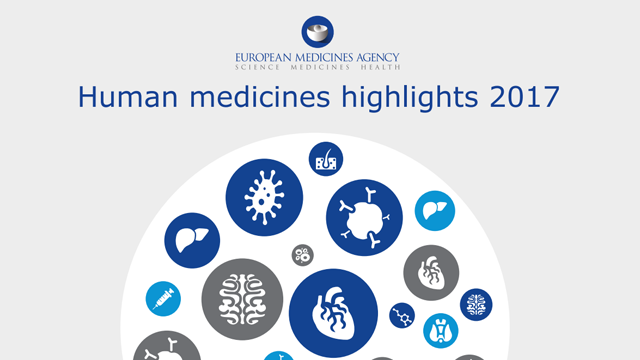 Human Medicines: Highlights of 2017