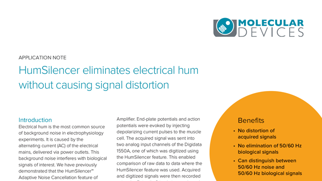HumSilencer Eliminates Electrical Hum Without Causing Signal Distortion