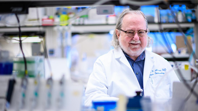 Immunotherapy Pioneer James Allison Wins Award