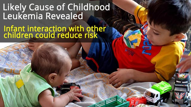 Infants Should Interact with Other Children to Reduce Leukemia Risk