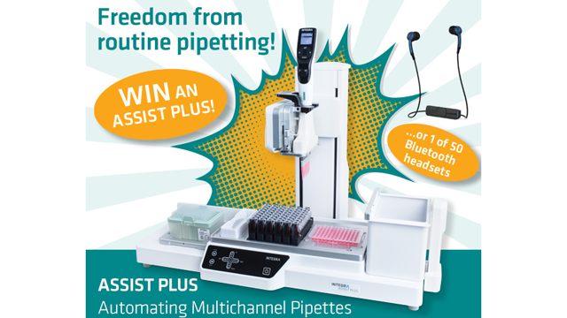 INTEGRA Competition Offers ASSIST PLUS Pipetting Robot Prize