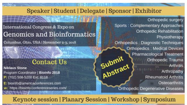 International Congress & Expo on Genomics and Bioinformatics