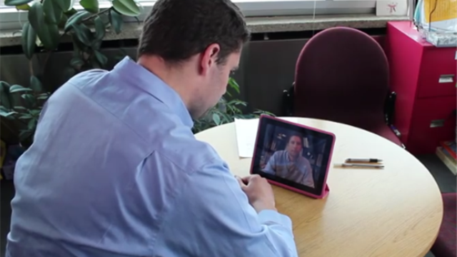 Researchers, clients turn to video to treat stuttering