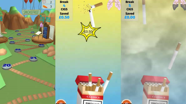 App to help smokers quit developed by health psychologists and game designers