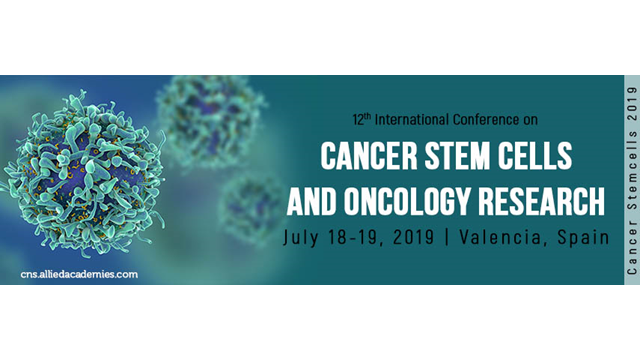 12th International Conference on Cancer Stem Cells and Oncology Research