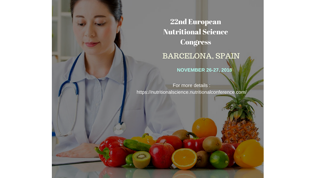22nd European Nutritional Science Congress