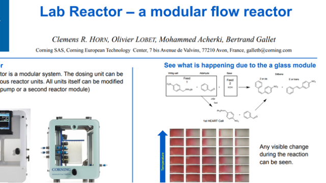 Lab Reactor – a modular flow reactor
