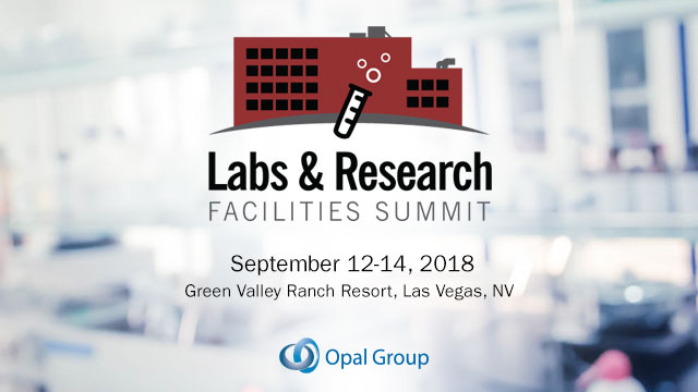 Labs and Research Facilities Summit 2018