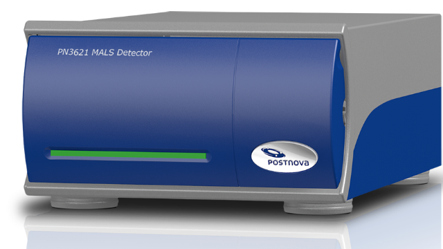 MALS detector for Size Exclusion Chromatography