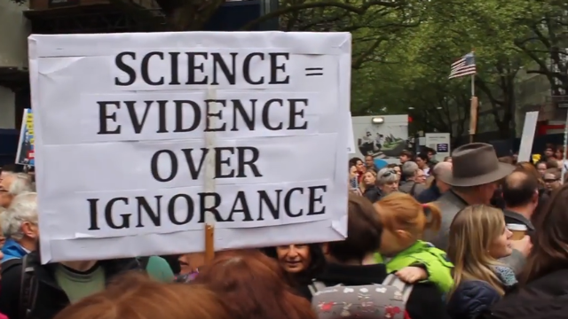 Marching for Science in London