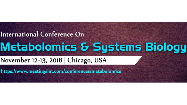 Metabolomics and Systems Biology 2018