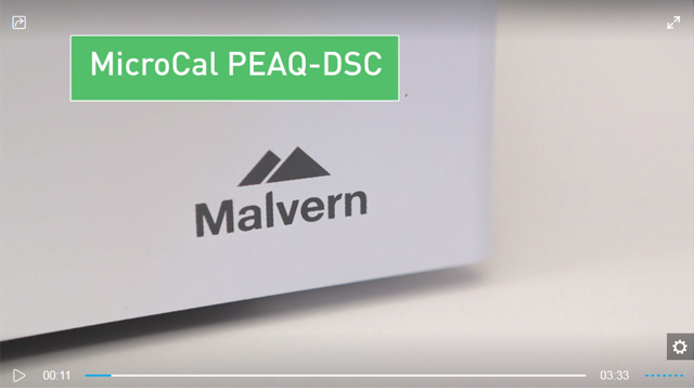 MicroCal PEAQ DSC for the Regulated Environment