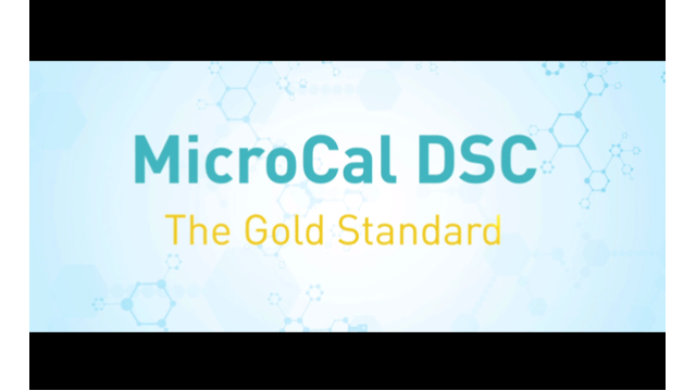 MicroCal PEAQ-DSC - The Gold Standard for protein stability characterization