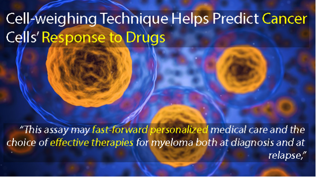 New Cell-weighing Technique Helps Predict How Drugs Affect Cancer Cells