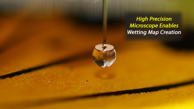 New Microscope Sets a Record for Visualizing Surface Wetting Properties