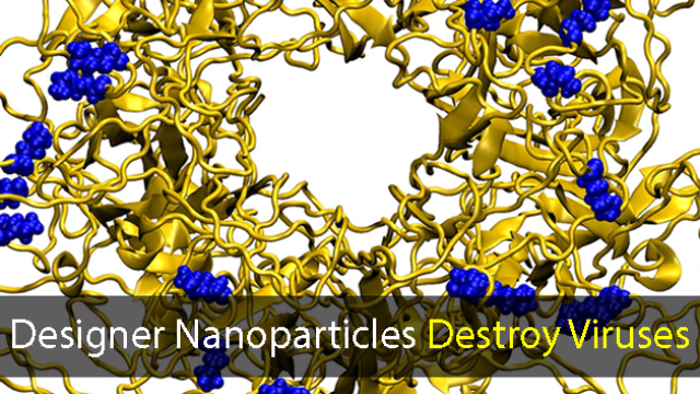 New Nanoparticles Destroy Viruses