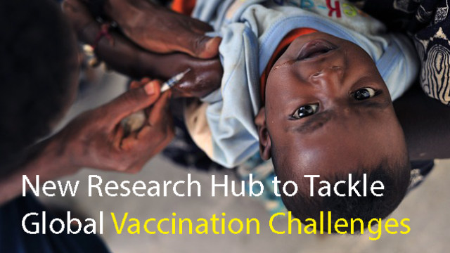 New Research Hub to Tackle Global Vaccination Challenges