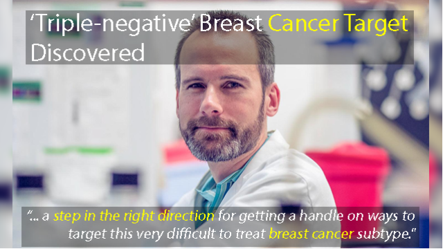 New Target for 'Triple-negative' Breast Cancer Discovered