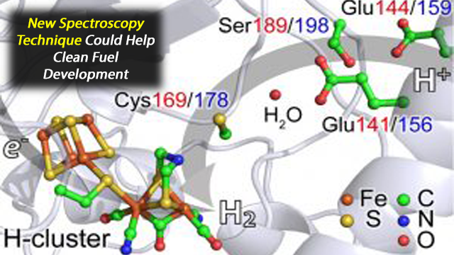 New X-ray Spectroscopy Explores Hydrogen-generating Catalyst