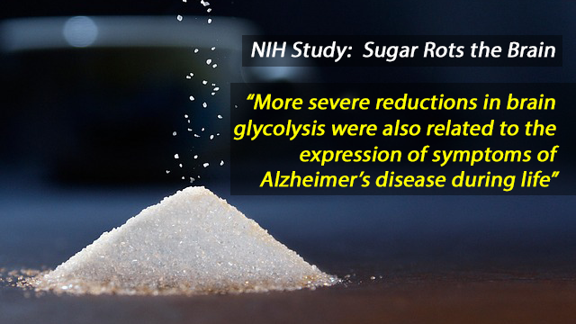 NIH Study: Brain Glucose Levels Linked to Alzheimer's Severity