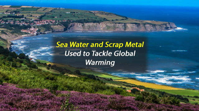 North Sea Water and Recycled Metal Help Reduce Global Warming