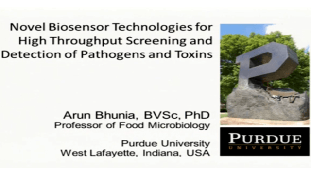 Novel Biosensor Technologies for Detection and High Throughput Screening of Pathogens and Toxins
