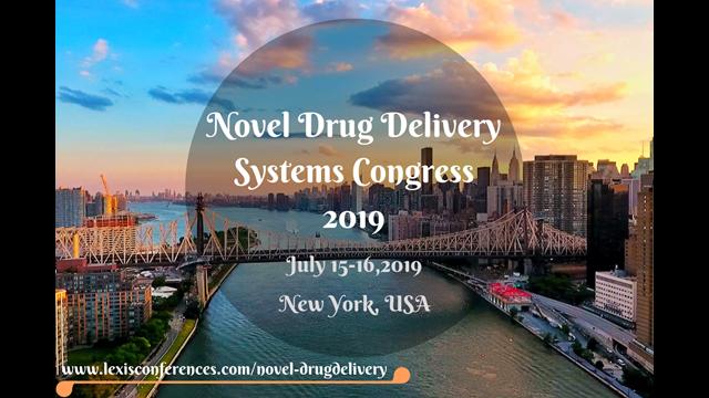 Novel Drug Delivery Systems Congress 2019