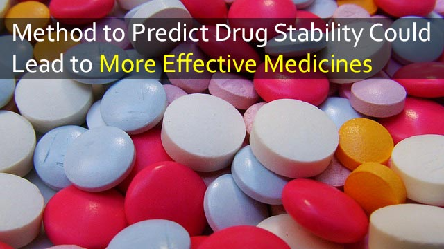 Novel Method to Predict the Physical Stability of Drug Candidates