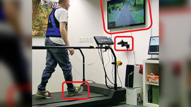 Combined virtual reality–treadmill training may prevent falls associated with Parkinson's and other disorders
