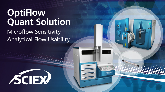 OptiFlow Quant Solution: Microflow Sensitivity, Analytical Flow Usability