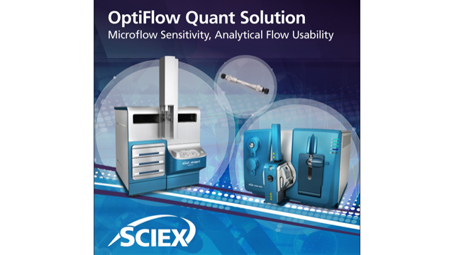 OptiFlow Quant Solution: Microflow Sensitivity, Analytical Flow Usability [Infokit]