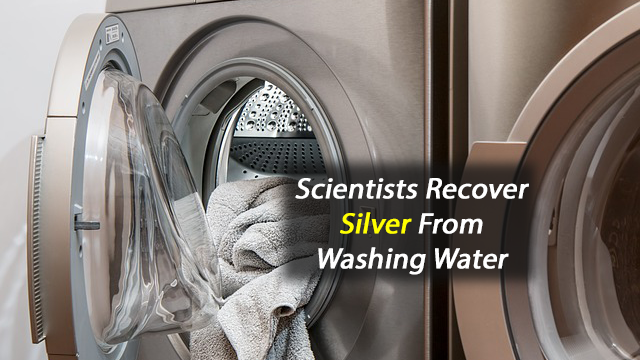 Panning for Silver in Laundry Wastewater