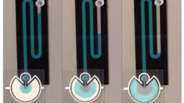 Paper Pumps Improve Microfluidic Device Portability