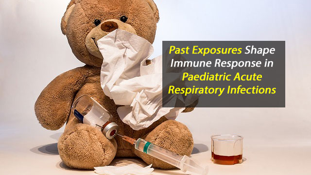 Past Exposure Shapes Immune Responses in Pediatric Acute Respiratory Infections
