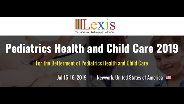 Pediatrics Health and Child Care 2019