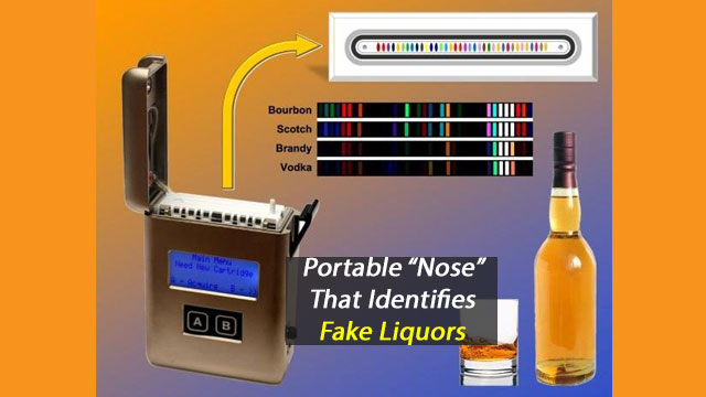 Portable Nose That Can Sniff Out Counterfeit Liquor