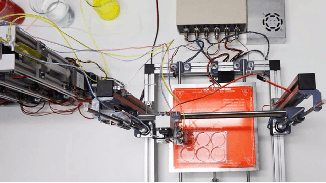 Printing Human Skin