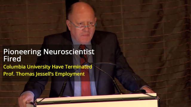Prominent Neuroscientist Prof. Tom Jessell Fired Following Investigation