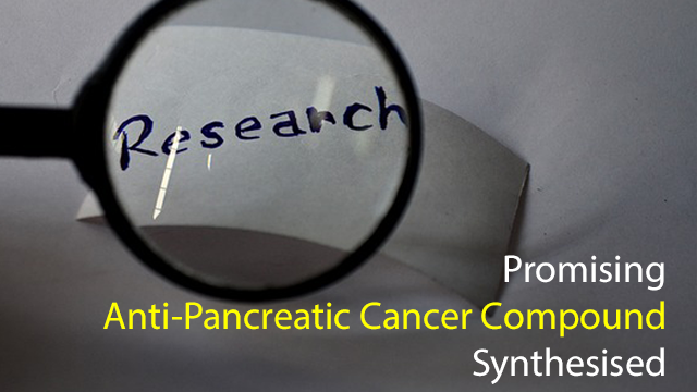 Promising Anti-Pancreatic Cancer Compound Synthesised