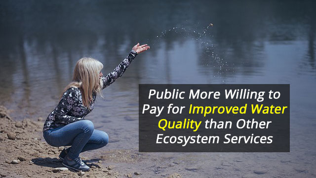 Public Willing to Pay to Improve Water Quality