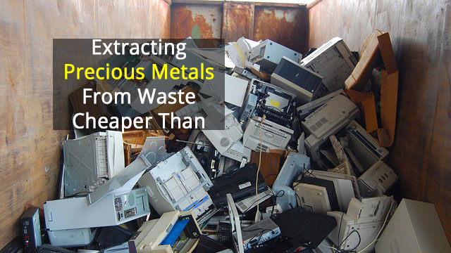 Pulling Valuable Metals from E-Waste Makes Financial Sense