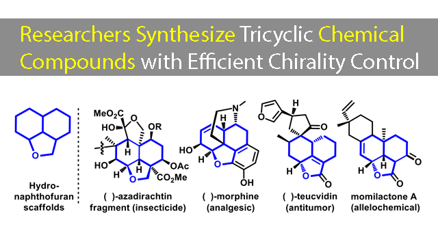 Researchers Have Produced Important Chiral Multi-centered Fused Tricyclic Compounds