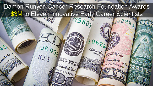 Scientists with Novel Approaches to Fighting Cancer Awarded $3M