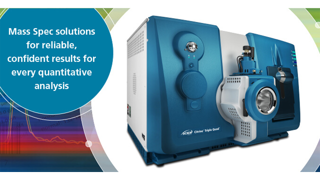 SCIEX Launches High-Performance mass Spectrometry Technology for Diagnostics Laboratories