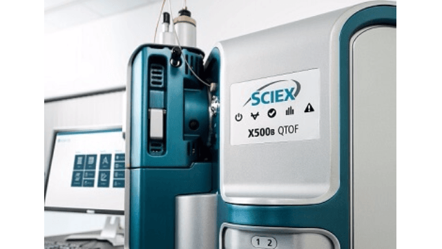 SCIEX Launches New X500B QTOF Mass Spectrometry System
