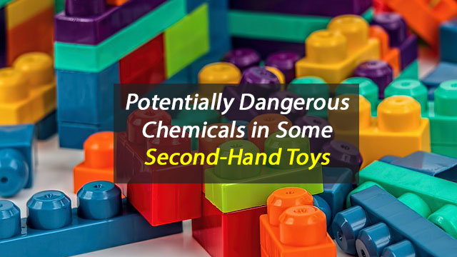 Second-Hand Toys May Pose Risk to Health