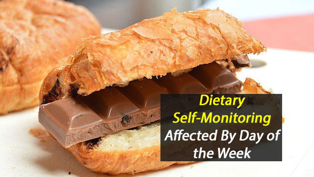 Self-Monitoring of Food Intake Affected By Day of Week