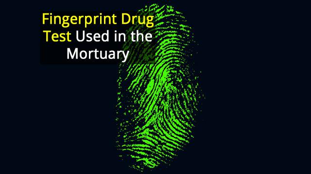 Sheffield Coroner's Office Among First to Adopt Revolutionary Fingertip Drug Test